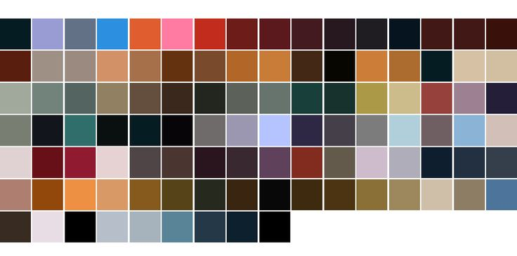 2001 A Space Odyssey Colour Palette Colours chosen from ...