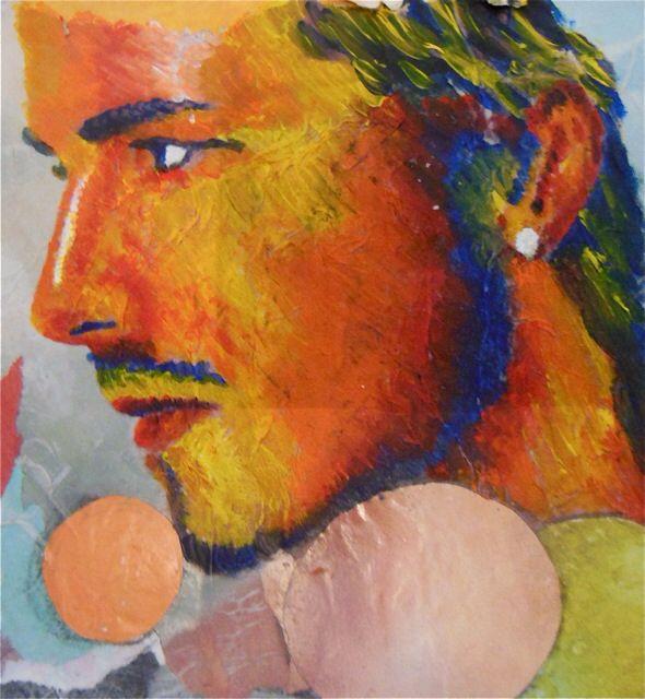 David Beckham painting #creativemoi