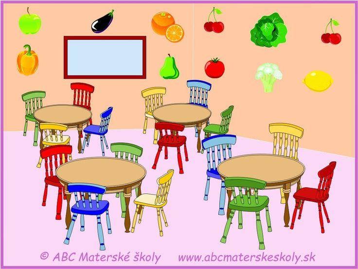 jedáleň v materskej škôlke
