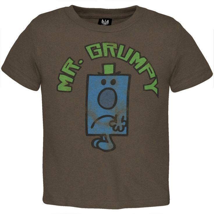 Mr. Men - Mr. Grumpy Toddler T-Shirt