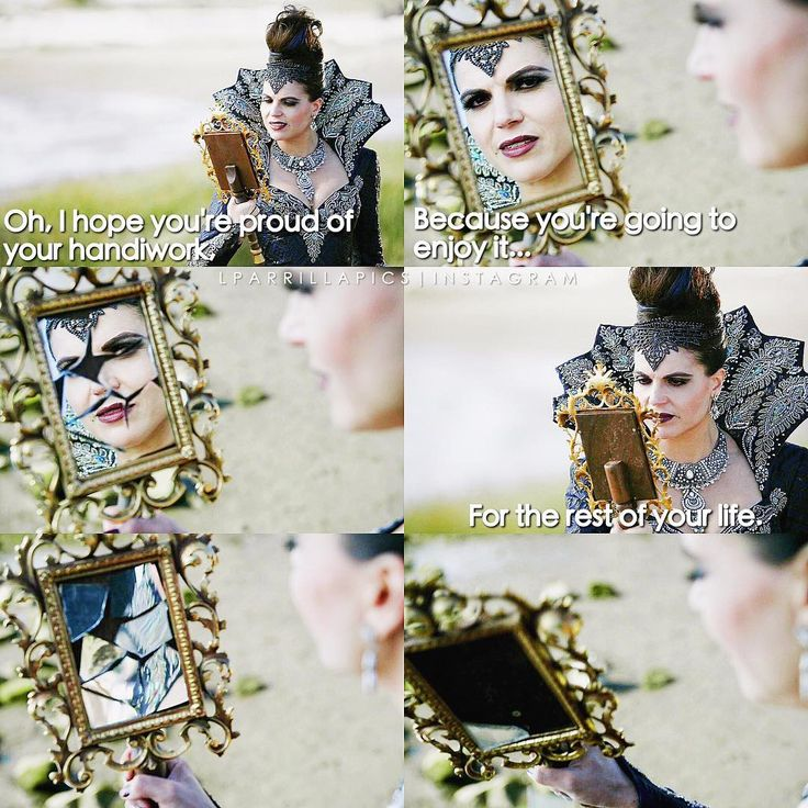 """""""I hope you're proud of your handiwork. Because you're going to enjoy it for the rest of your life"""" - The Evil Queen #OnceUponATime (by Lparrillapics)"""