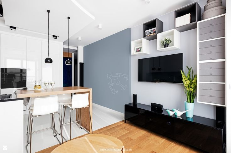 Salon styl Minimalistyczny - zdjęcie od Patryk Kowalski Architektura i projektowanie wnętrz - Salon - Styl Minimalistyczny - Patryk Kowalski Architektura i projektowanie wnętrz
