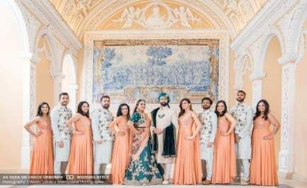 68+ trendy Ideas for indian bridal party outfits bridesmaid saree