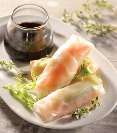 """Prepara unos deliciosos """"Rollos primavera estilo thai"""""""