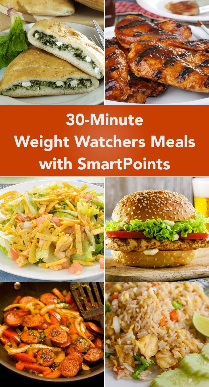 1. Chicken Spinach Crescent Ring (Weight Watchers)kitchme.comReady in 30 minutes with 4 SmartPoints. See recipe details. 2. Sweet and Sour Turkey Meatballs (