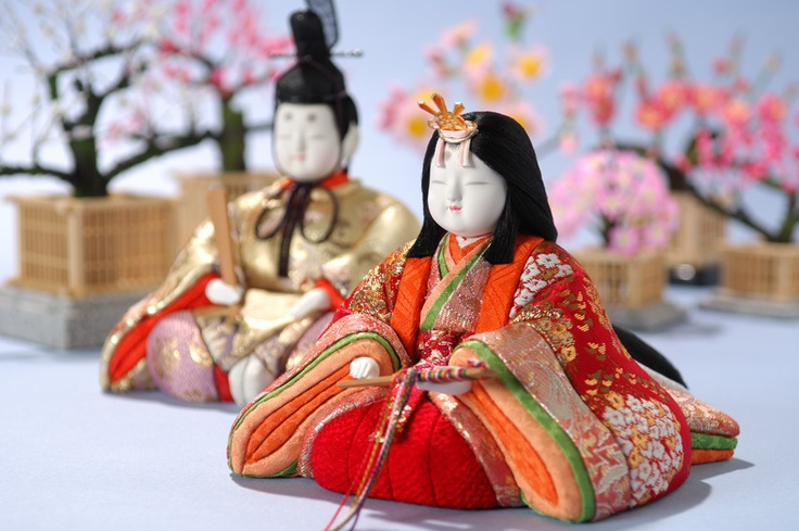 Hina (girls day holiday) dolls.