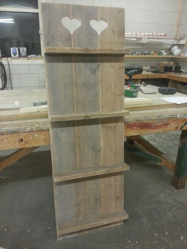 Wand paneel steigerhout #1