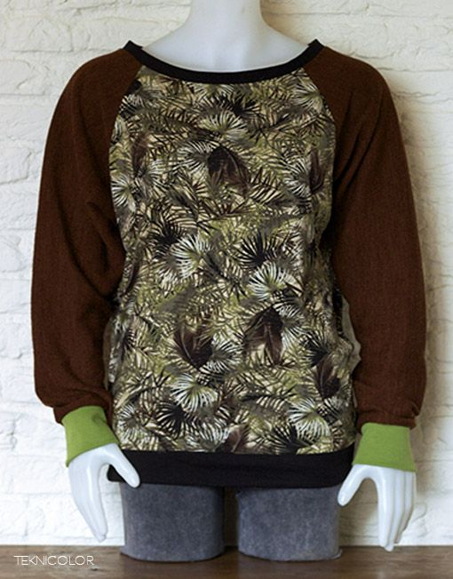 Psychedelic bohemian goa sweater made by Teknicolor