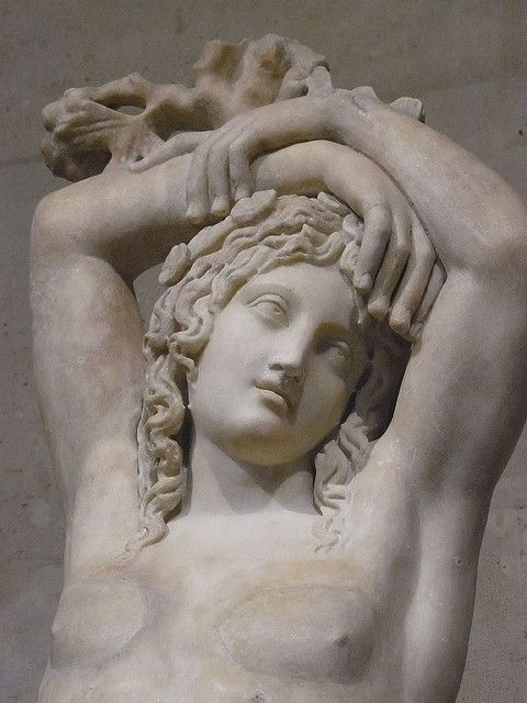 Narcissus also known as the Mazarin Hermaphrodite or the Genius of eternal rest marble 3rd century CE (2) | Flickr: Intercambio de fotos