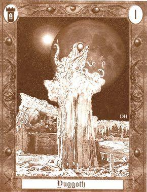 The Lovecraft Tarot - Yuggoth