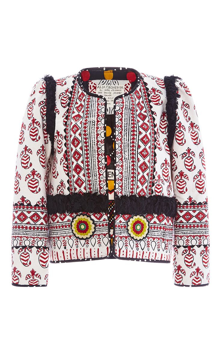 One Of A Kind The Dollie Jacket by ALIX OF BOHEMIA for Preorder on Moda Operandi
