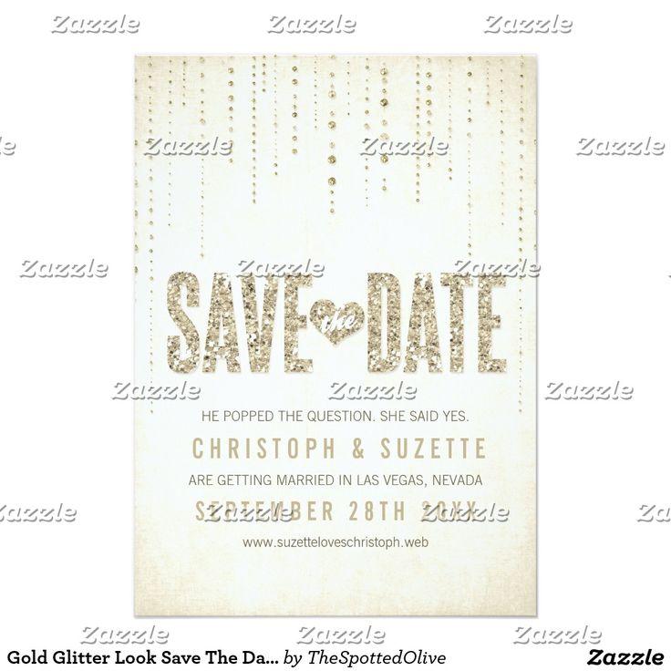 319 best Glitter Wedding Invitations images on Pinterest   Lights ...