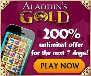 Aladdin online casino Geschichte