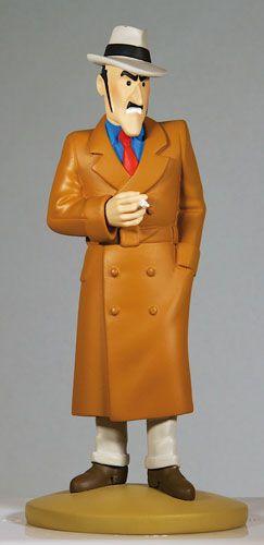 TINTIN FIGURINE NUMERO 73 COLLECTION disponible en France et en Belgique : Ramon Bada. Référence de la figurine : L'Oreille cassée, planche 13 , case C1