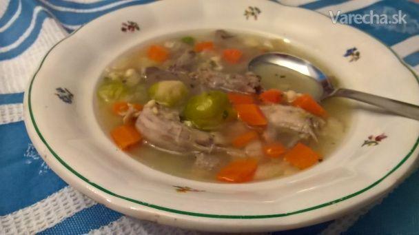 Ragú polievka s drožďovými haluškami