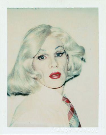 "Andy Warhol ""Self Portrait in Drag,"" 1981"