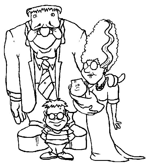 Scary Halloween Coloring Pages Adults : 15 best coloring for kids images on pinterest