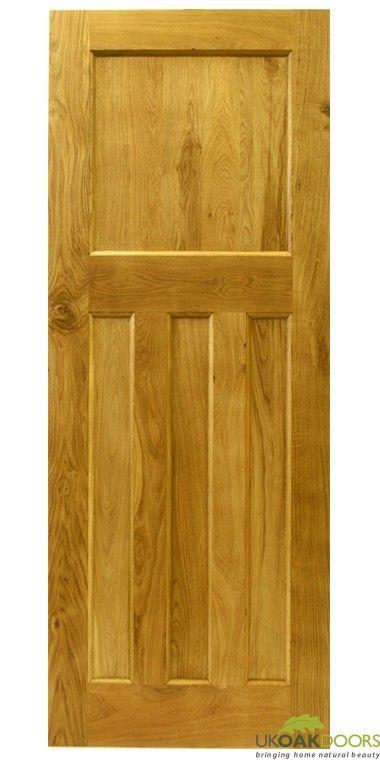 Solid Oak Internal 1930s Style Door