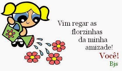 Adoro Flores: Saudades de você amiga!