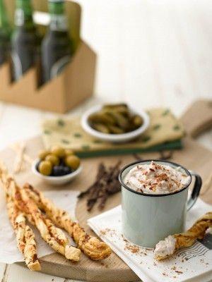 Cheesy biltong straws with biltong dip   Recipes   Food   ClubSense.co.za