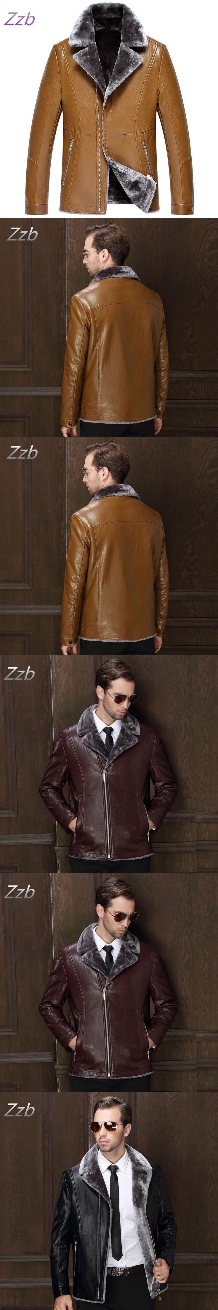 Free shipping Winter  men's luxury fur coat Australian sheep Leahter wool fur coat men sheepskin Fur overcoat leather luxury men