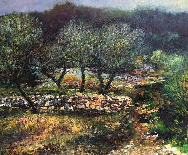 Peintre-paysagiste-Peinture tableau galerie-Paysage St-Tropez