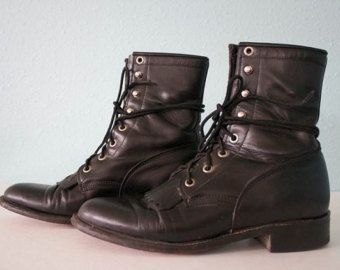 Popular items for justin roper boots on Etsy