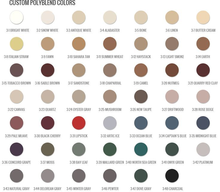 polyblend grout renew color chart - Google Search