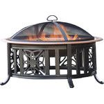 <strong>Metal Fire Pit</strong> by Plow & Hearth