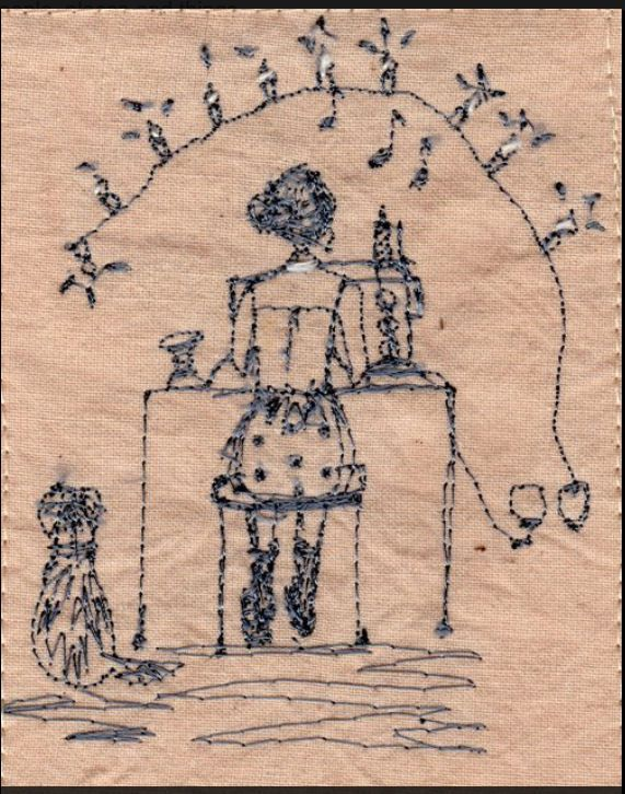 Betty sews: Michelle Holmes