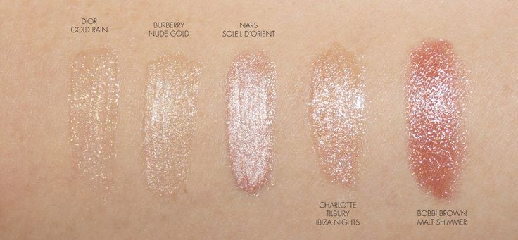 The Beauty Look Book: Holiday Beauty: Champagne and Gold Shimmers