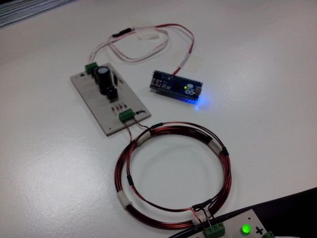 Picture of Wireless Power Transmitter and Receiver