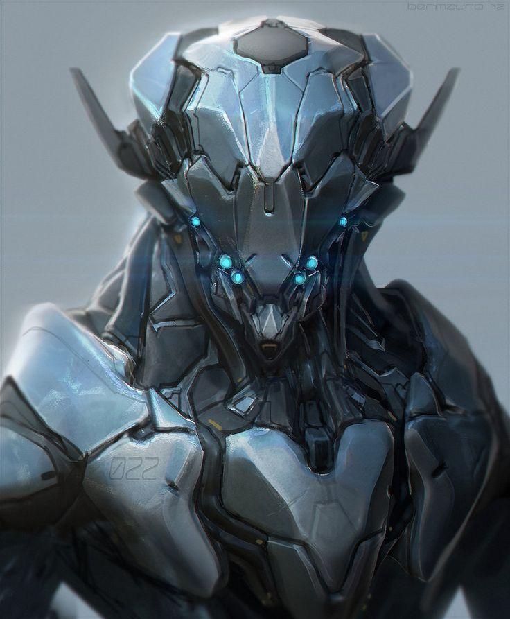 robot science fiction concept - photo #4