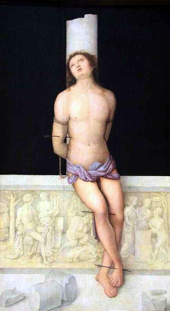 Amico Aspertini, Saint Sebastian, c. 1505