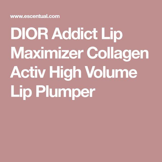 DIOR Addict Lip Maximizer Collagen Activ High Volume Lip Plumper