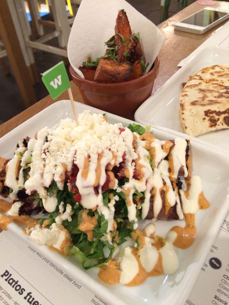 Street food - Wahaca, Covent Garden