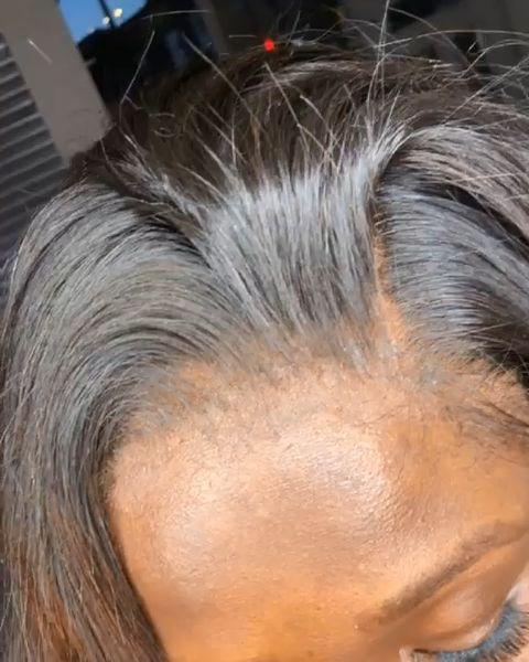 Thriving Hair Virgin Human Hair Brazilian Silky Straight Pre-Plucked Full Lace Wigs [V2-FULL]
