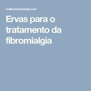 Ervas para o tratamento da fibromialgia