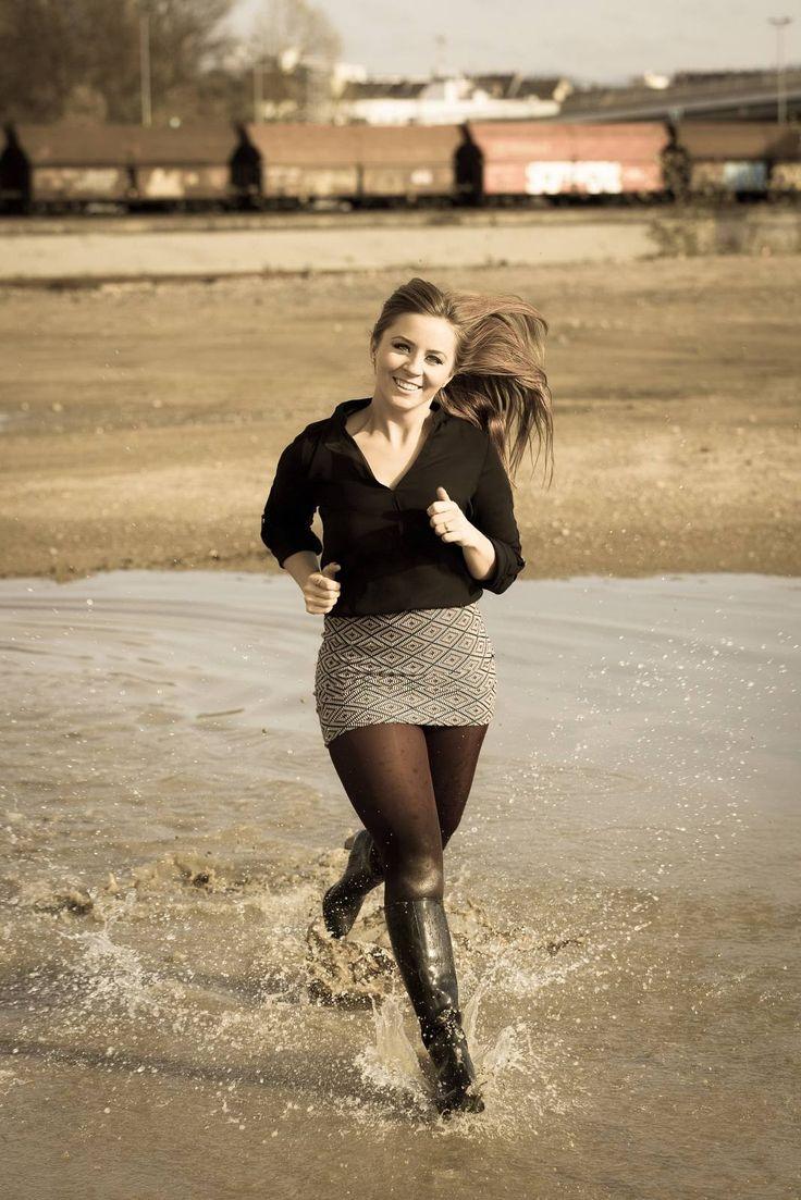 A Great Khaki Skirt - What I Wore