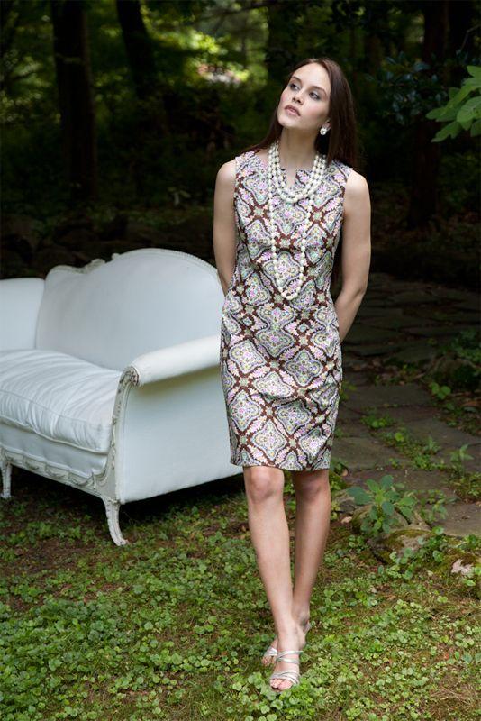 Rebecca Shift Dress PDF Pattern for Women