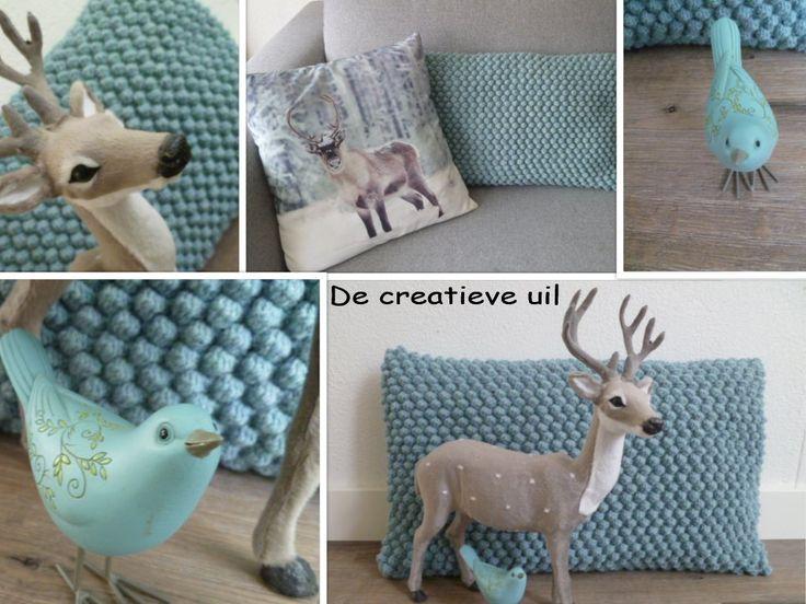 Een blog over creatief bezig zijn in en om het huis. Knutselen, stylen, inspireren en geïnspireerd worden.