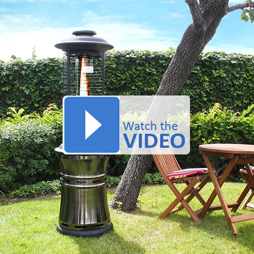 this lava heat ember natural gas patio heater is made of materials with - Natural Gas Patio Heater