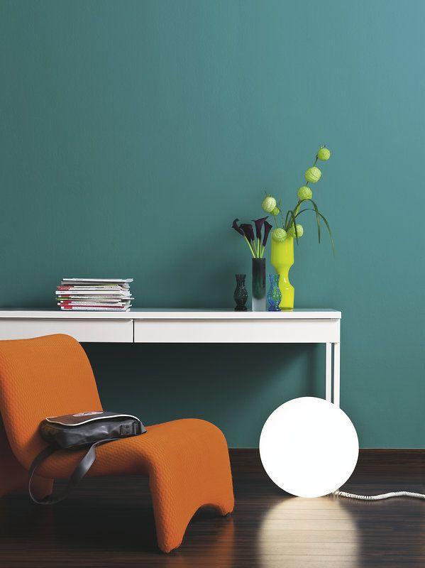 Tipps Und Ideen Für Eine Harmonische Wandgestaltung Mit Farbkombinationen.  Bringen Sie Farbe In Wohnzimmer, Flur, Schlafzimmer, Kinderzimmer Etc.