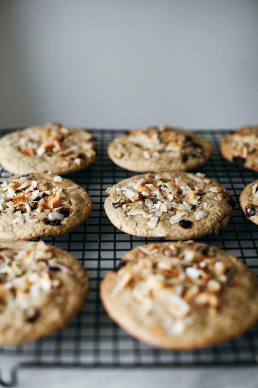 coconut tahini monster cookies + a mega giveaway - http://mynameisyeh.com/mynameisyeh/2016/7/coconut-tahini-monster-cookies?utm_campaign=coschedule&utm_source=pinterest&utm_medium=Marie%20Asselin
