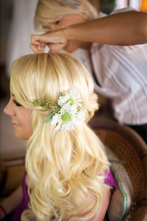 46 best Maui Wedding Hair and Make-Up images on Pinterest ...