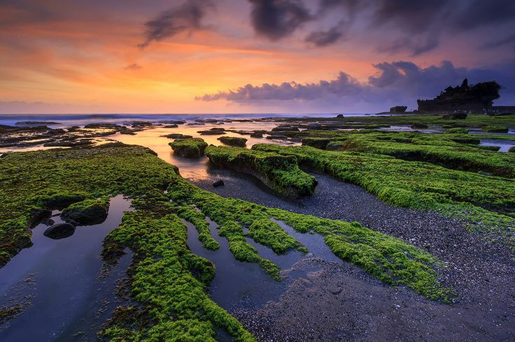 Sunset at Tanah Lot Temple by Yudik Pradnyana on 500px