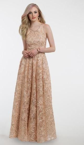 Soutache Ballgown Dress