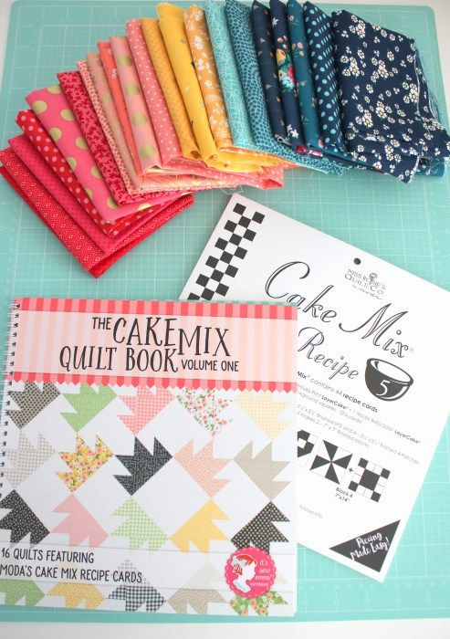 Cake Mix pre-cuts friendly quilt patterns