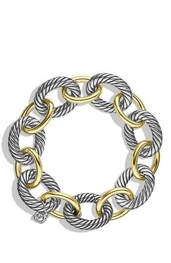 Links are in! Crushing on this two-tone bracelet.