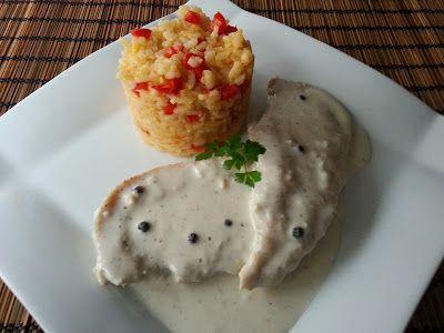 RECETAS DE CASA.: Pechugas de pollo a la pimienta en microondas